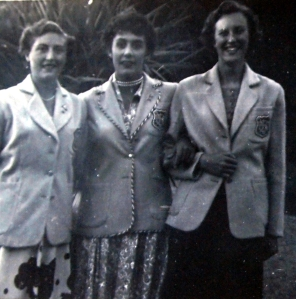 Bette Shubrook in Stuart Ladies RC club blazer
