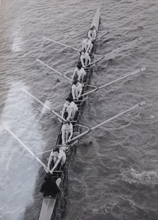 Stuart Ladies RC winning the Women's Head 1953