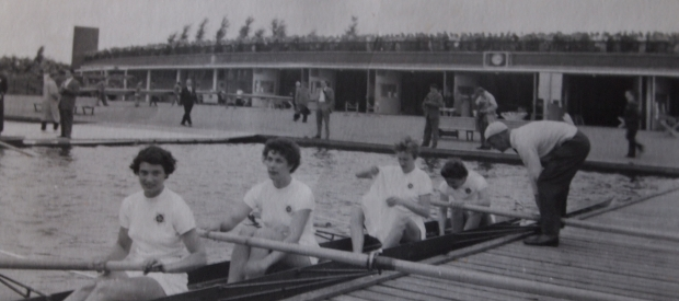 1954 GB women's coxed four