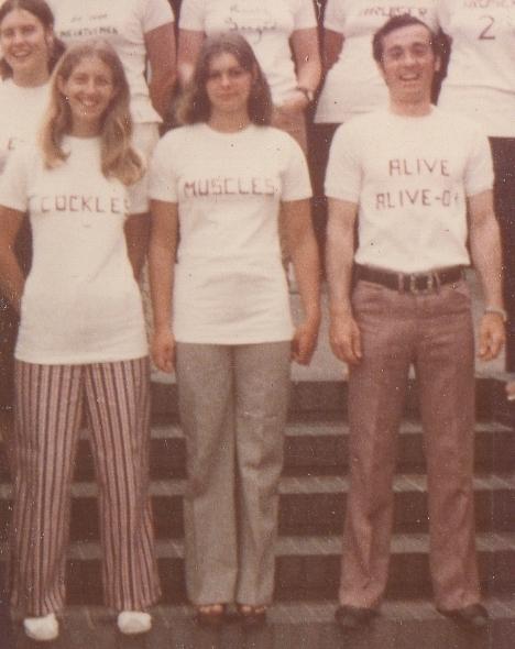 Squad t-shirts 1974