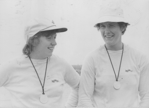 Gill Webb and Liz Paton