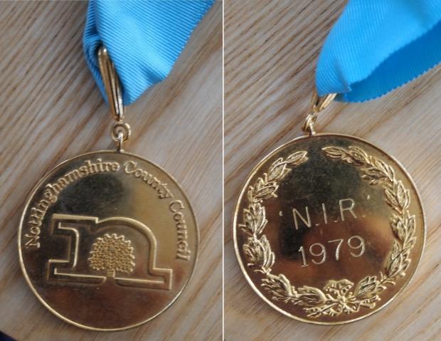 1979 NIR medal