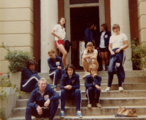 1979-waiting to go training in Varese