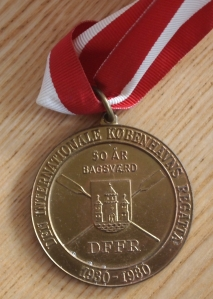 1980 W8 medal from Copenhagen