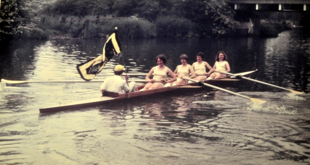 Clare College women's coxed four