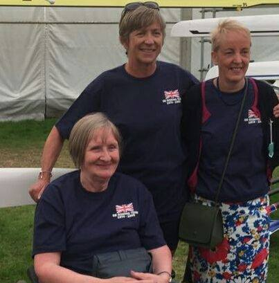 Clare Bayles, Gill Parker, Pauline Wright
