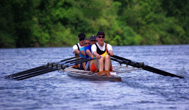 Mixed quad scull