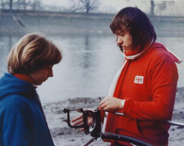 Nicky Zarach and Gill Webb