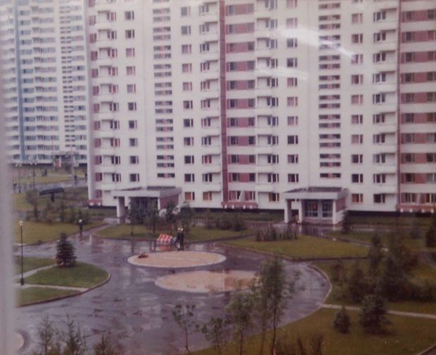 Moscow Olympic village.