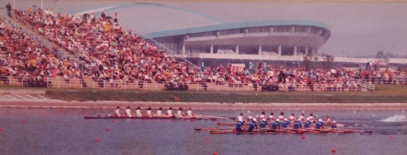 W8 repechage 1980 Olympics