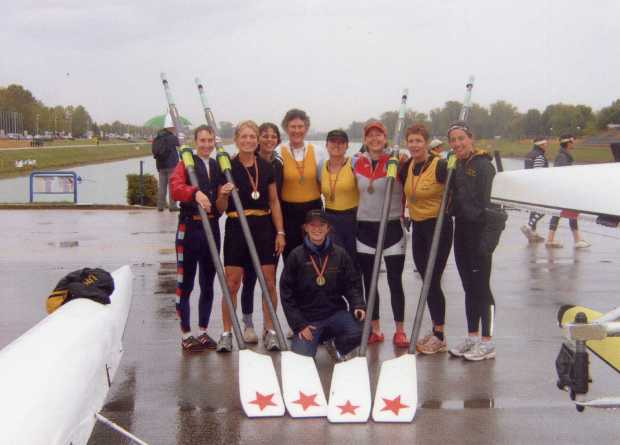 Liz at World Masters Regatta 2007