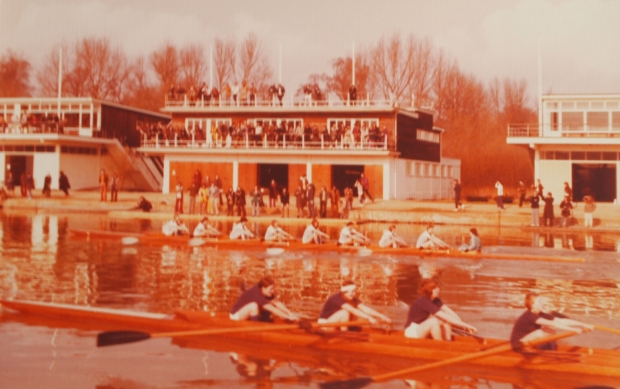 Cambridge and Oxford women's boat race 1974