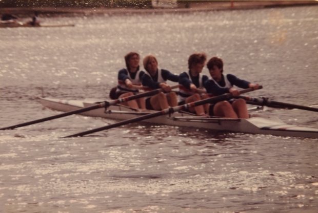 GB women's 4+ in front loader