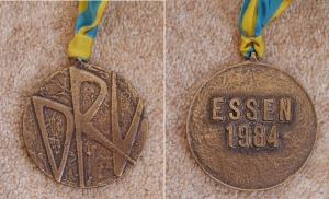 Essen 1984 medal front and reverse