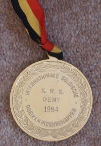 Medal KRS Ghent 1984