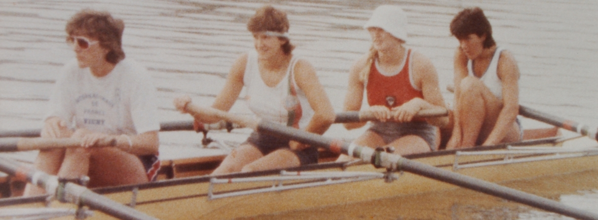bow four of 1984 GB women's eight