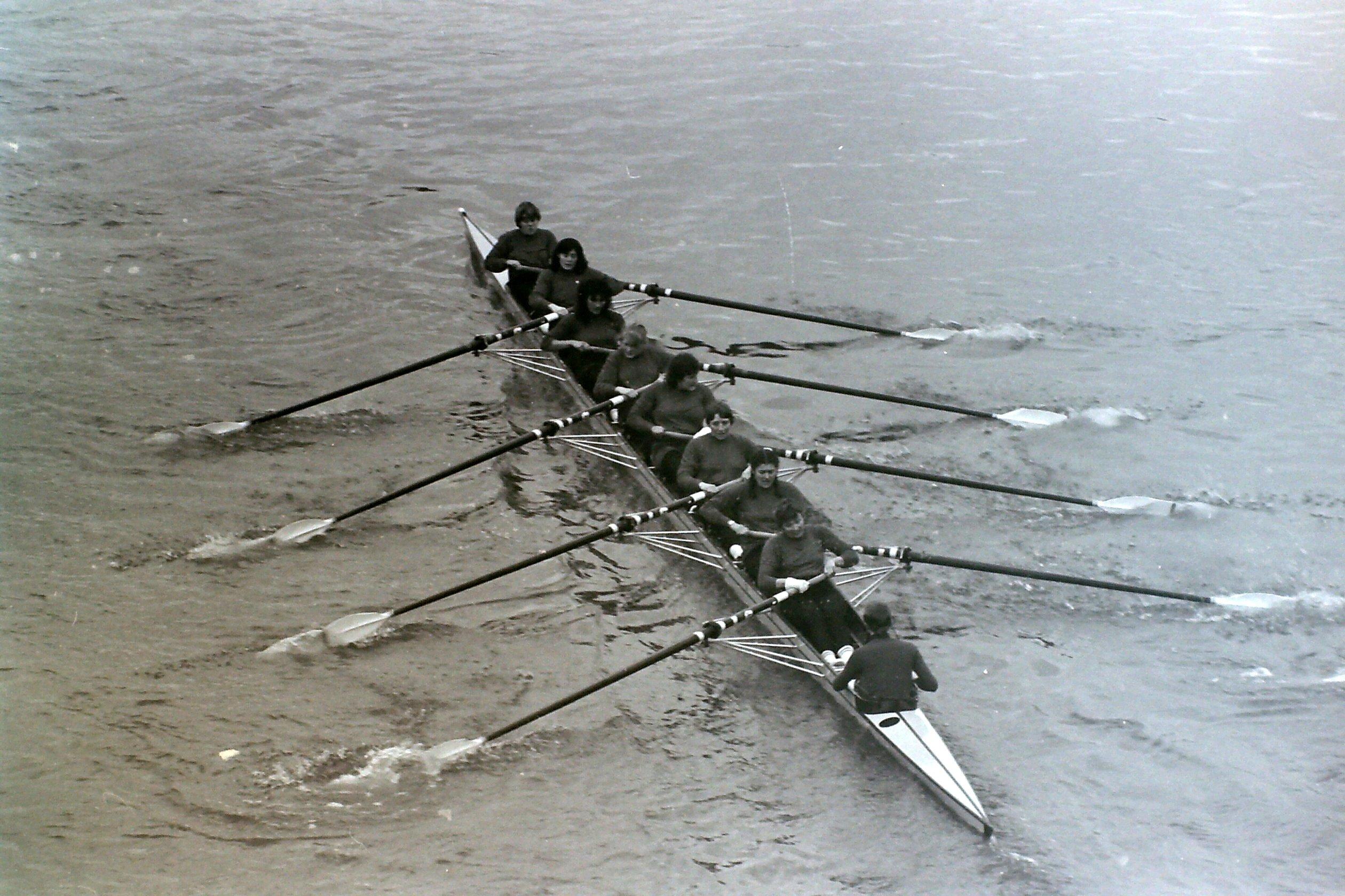 Photo of eight taken from bridge