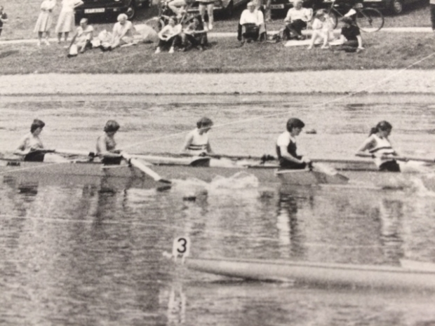 Bow 5 of women's eight