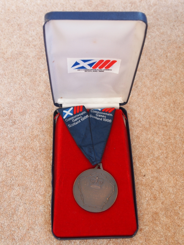 Bronze medal in box