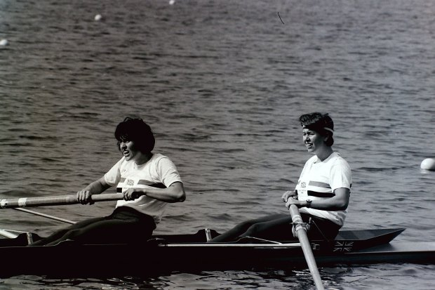 women's pair racing
