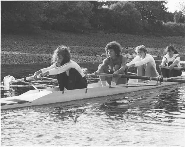 Women's coxless four