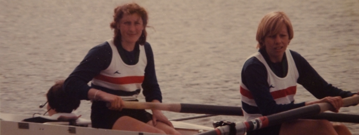 Bow pair of coxed four