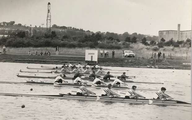 Women's coxed fours race