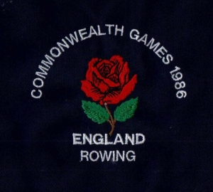 Commonwealth Games 1986 blazer badge