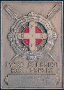 Rectangular medal