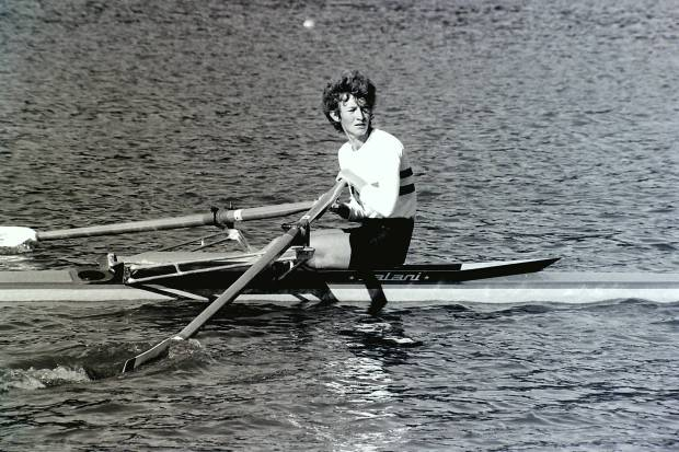 Lightweight woman single sculler