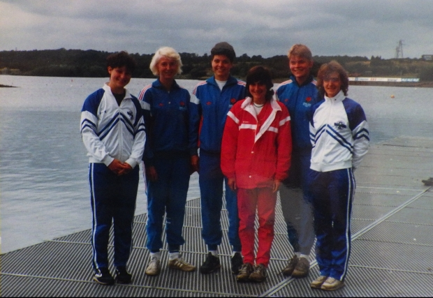 Six women in Scotland, England and Wales tracksuits