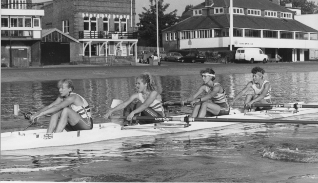 coxless four
