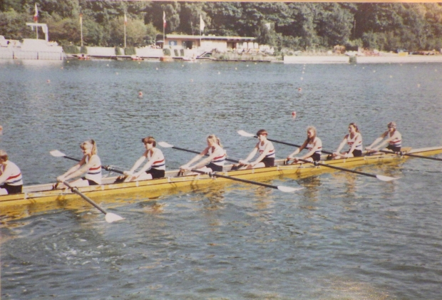 GB women's eight easied