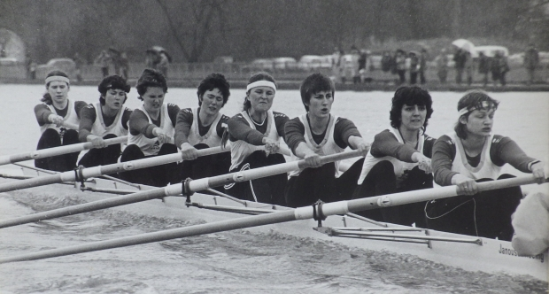 CUWBC during 1984 boat race