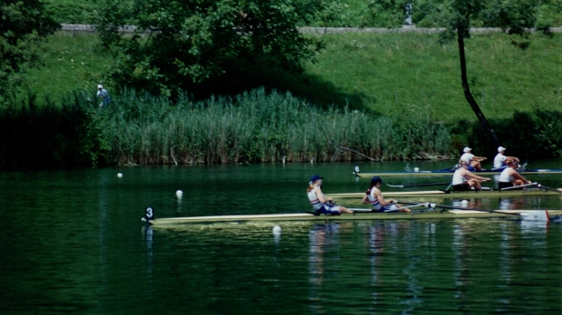 GB women's pair leading 2 others
