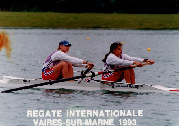 women's pair in 1992 Olympic kit