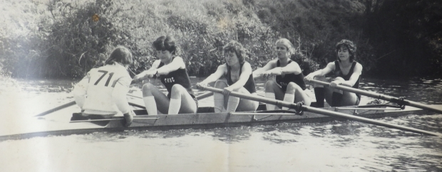 women's four during Mays bumps