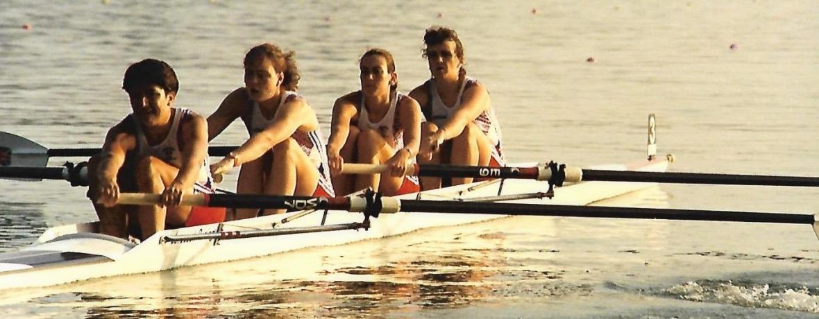 GB women's 4- at Barcelona 1992