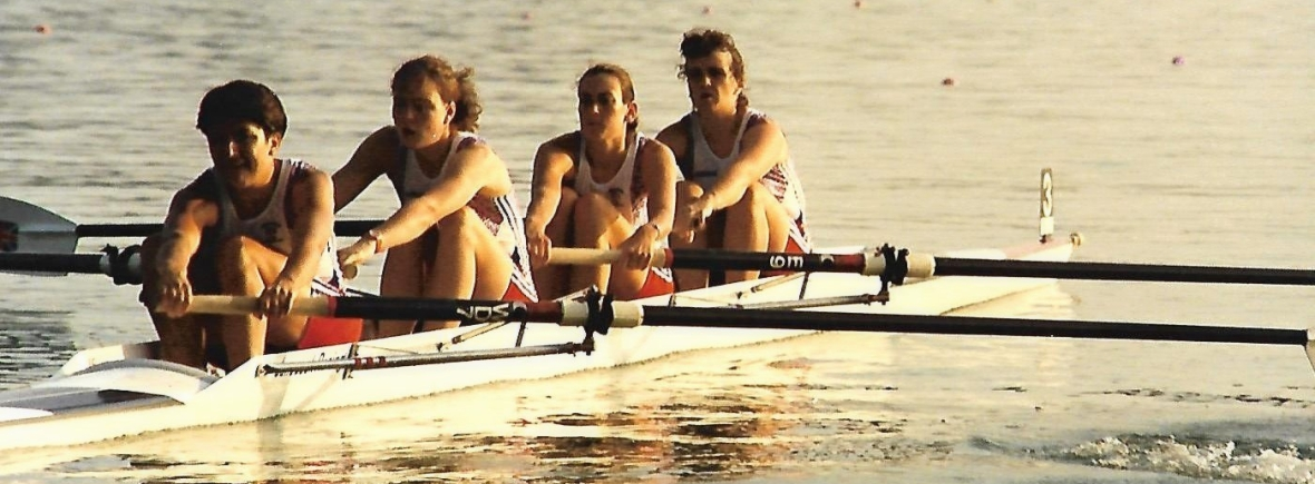 GB women's 4- at Barcelona 1992