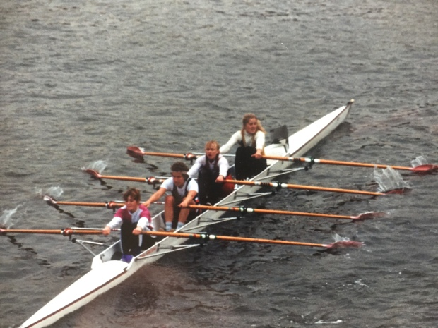Women's quad with wooden blades