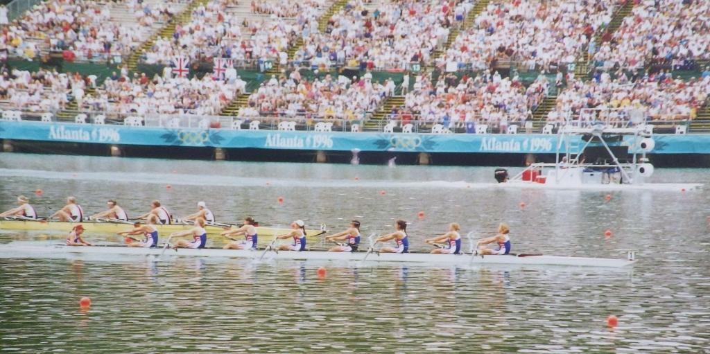 Eights racing at Atlanta 1996