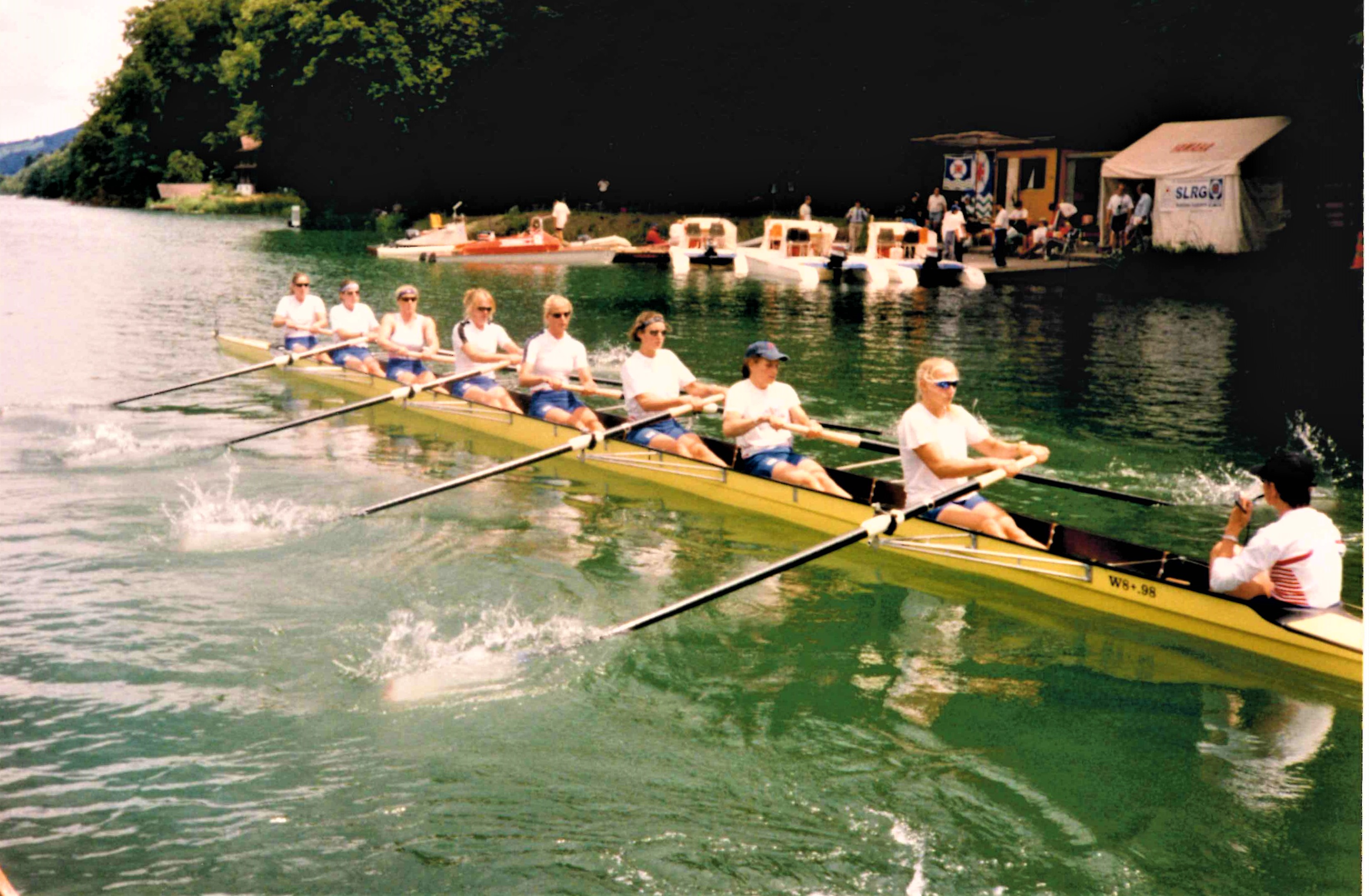 women's eight in Empacher