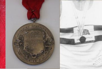 1954, 1962, 1981 and 1985 medals