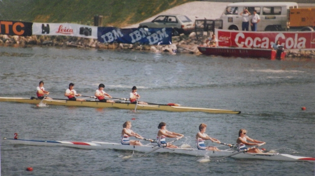 women's fours racing