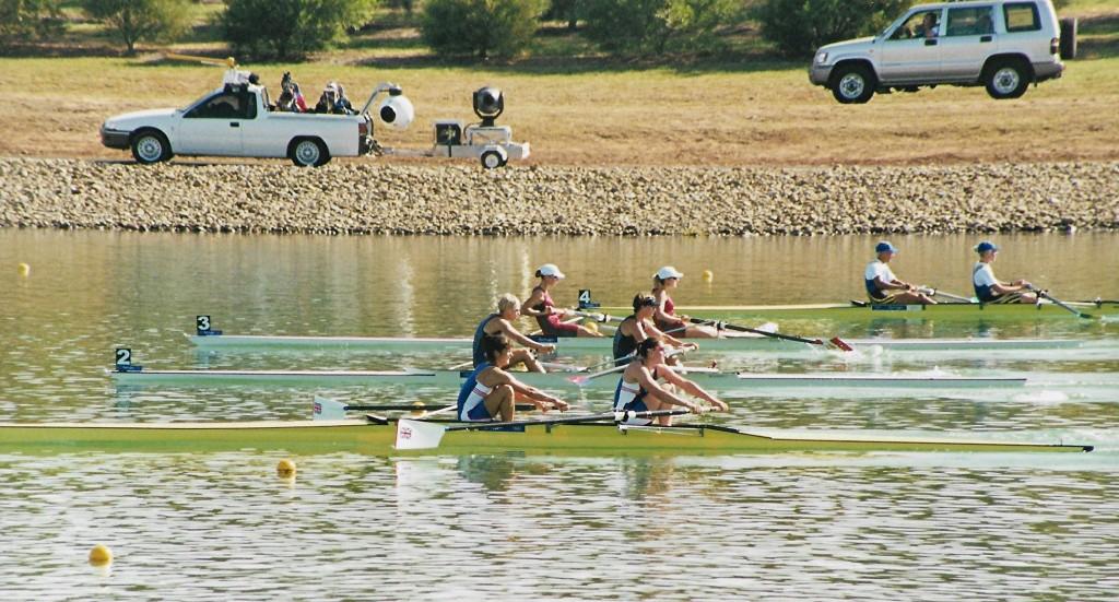 women's pairs racing