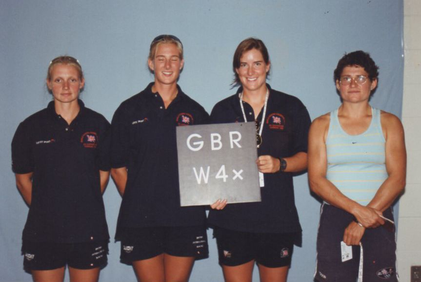 GBR W4x official accreditation photo